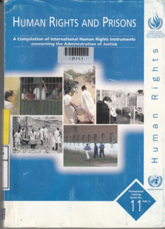 HUMAN RIGHTS AND PRISONS